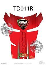 Ducati 848 / 1098 / 1198 Tank Pad Rojo (td011r)