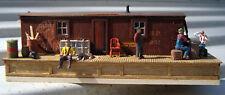 BANTA MODELWORKS RGS SP NARROW GAUGE BOXCAR SHED HO Railroad Wood Kit BM102H