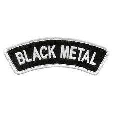BLACK METAL BANNER SEW-ON PATCH DARKTHRONE IMMORTAL