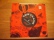"The Clash / Mikey Dread Hitsville U.K. / Radio  UK 7"" VINYL Single1980 CBS 9480"