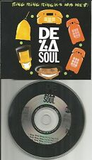 DE LA SOUL Ring ha Hey 4TRX MIXES EXTEND &EDIT & DEMO Europe CD single USA Seler