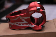 Spank Spike Race Mountain Bike Stem 50mm x 0 Degrees 31.8 Bar Clamp Red