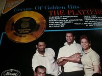 The Platters Encore of Golden Hits Promo Vinyl Album 1980 Mercury 6463 062