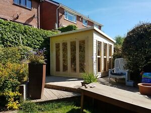 Moderno Summerhouse / Garden Room / Garden Office / Garden Building