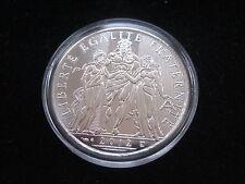 """MDS francia 10 euro 2012 """"Hercules-liberté egalité fraternité"""", plata #19"""