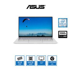 "ASUS Chromebook Flip 14"" Convertible Laptop Intel Core m3-8100Y, 8GB, 64GB eMMC"