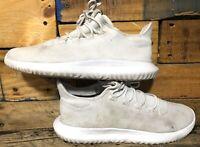 Adidas Tubular Shadow White Athletic Running Shoes, CG4563 Mens Size 10.5