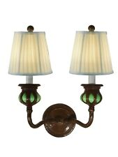 SPW19066 - Springdale  2 LT Green Evita Wall Sconce