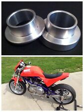 Buell S1 M2 X1 S3 S2 S1W to XB Rear Wheel Conversion Spacers Erik EBR Tube Frame