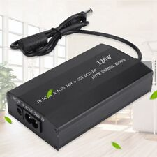Universal 120W Laptop Car Power Adapter Charger Notebook with 8 Connectors EU