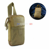 Tactical MOLLE Gadget EDC Utility Compact Pocket Pouch Gear Organizer Waist Bag