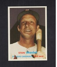 STAN MUSIAL, Cardinals | 1957 Topps 2006 GBSCC promotional Cards That Never Were