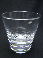Baccarat Perfection Old Fashioned Glasses 3 7/8in Clear Cut Crystal