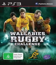 Wallabies Rugby Challenge PS3 Game USED