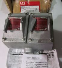 NEW COOPER CROUSE HINDS EFD22105 DOUBLE CIRCUIT BREAKER ENCLOSURE/ PROTECTOR