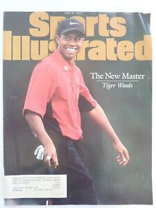 SPORTS ILLUSTRATED SI MAGAZINE APRIL 21 1997 TIGER WOODS 1st MASTER'S COVER