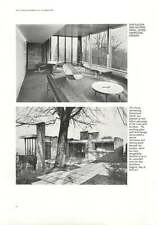 1961 Ventilation And Heating Panel House Hampstead Higgins Ney