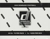2020 Donruss Football NFL Trading Cards Fat Pack Sealed Box with 12 Packs