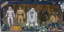 Star Wars 6 Pack 15CM Figures Luke Skywalker Darth Vader Chewbecca R2-D2 Yoda