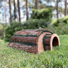 More details for wooden barkwood hogitat hedgehog house shelter hibernation nest box