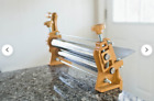 """Dough Sheeter Roller 12"""" bakery, bread, pizza, pasta, cookies, fondant and more"""