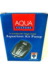 Aqua Culture 5-15 Gallon Aquarium Air Pump