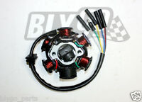 6 Coil Pole Magneto Flywheel Stator 110c 125cc PIT Quad Dirt Bike ATV Buggy