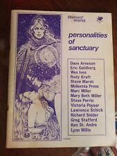 Thieves' World Personalities Of Sanctuary Chaosium 1981