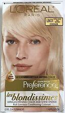 LOreal Paris Superior Preference Hair Dye Color # LB01 Extra Light Ash Blonde