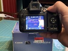 Canon PowerShot SX10 IS 10.0MP Digital Camera, Black in Open Box, Gently Used