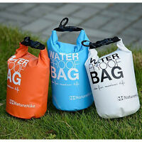 2L 5L Waterproof Dry Bag Sack Pouch for Outdoor Canoe Boating Camping Rafting