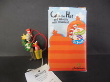 CAT IN THE HAT AND WHOZIT MINI CHRISTMAS ORNAMENT
