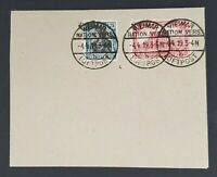 1919 Weimar Germany Early Airmail Cover