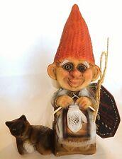 "NyForm Sledding Nisse 7"" tall, 4"" long Norwegian Santa Swedish Tomte"