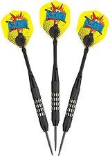 Viper Comix 22g Steel Tip Darts - Black 22-1501-22 dart flights shafts