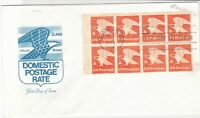 united states 1978 booklet pane stamps cover ref 20029
