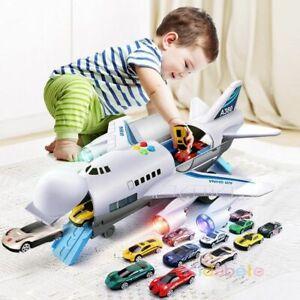 2020 Big Vehicles Passenger Plane Music Lights Airplane Toys For Boys Kids Gift
