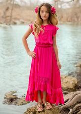 NWT Joyfolie Catalina Two Piece Dress Skirt Set in Fushia Girls sz 12