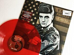 Elvis Presley - G.I. Blues Red Vinyl LP Numbered Limited *500* NMINT