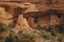 """""""Ancient Empire, Mesa Verde"""" Robert Peters Limited Edition Giclee Canvas"""