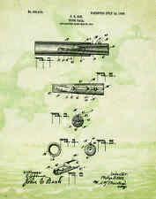 "Duck Hunting Antique Goose Calls US Patent Poster Art Print 11""x14"" Decoys PAT60"