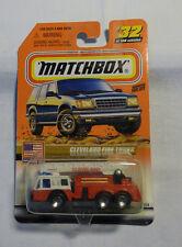 Matchbox - MB 32  Cleverland Fire Truck  - OVP - Blister