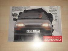 61099) Daihatsu Speed - Charade GTTi - Hijet Prospekt 198?