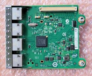 Dell Intel 0R1XFC Quad-Port 1Gb Ethernet Network Daughter Card
