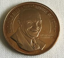 Dwight D Eisenhower Radio Free Asia Korean Cultural And Freedom Fnd. Coin Medal