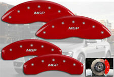 "2012-2015 Audi A5 Quattro Front + Rear Red ""MGP"" Brake Disc Caliper Covers"
