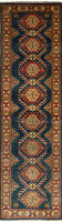 "Hand-knotted Carpet 2'8"" x 10'1"" Finest Gazni Traditional Wool Rug"