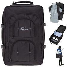 Reiserucksack Fabrizio Rucksack 40L Handgepäck Kabinenrucksack Bag 10202 Schwarz