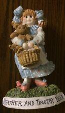 Heather and Timothy Bear Tea Party Teddies Figurine Linda Grayson Love Bears All