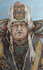 1983 Signed Doug Lindstrand Alaskan Eskimo Print Alaskan Sketches Limited Ed